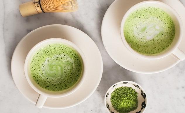 giảm cân bằng bột trà xanh sữa dừa, cách giảm cân bằng bột trà xanh, giảm cân bằng bột trà xanh sữa dừa