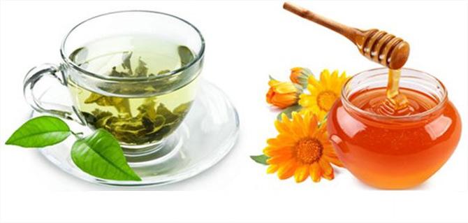 giảm cân bằng trà xanh mật ong, cách giảm cân bằng trà xanh mật ong